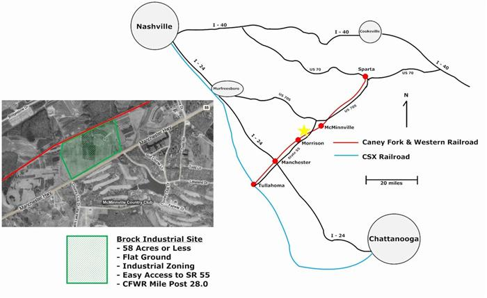 Caney Fork & Western Railroad