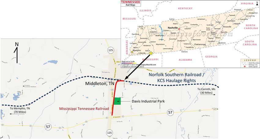 Mississippi Tennessee Railroad